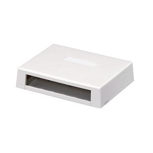 CBXD6WH-AY 6PORT MINI SURF BOX WHITE