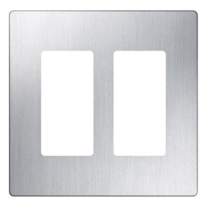 CW-2-SS PLATE 1 GANG STAINLESS