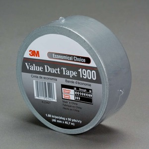 1900-48X45.7 3M�DUCT TAPE SILVER