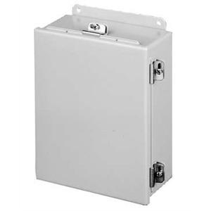 A1008CHNF BOX 10X8X4 NEMA4 HINGEDOOR