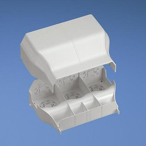 T702EEIW ENTRANCE END FITTING WHITE