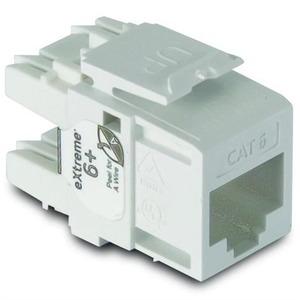 61110-BW6 CAT6 RJ45 MODULE WHITE (PG25)