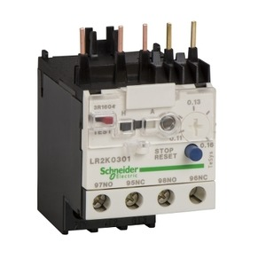 LR2K0306 OVERLOAD RELAY 0.8 - 1.2A