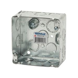 """BC-52171-K    BOX 4"""" SQ. 2 1/8"""" DEEP"""