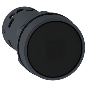 XB7NA21 BLACK PUSHBUTTON NO