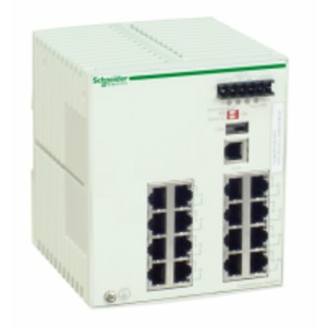 TCSESM163F23F0 MANAGED SWITCH 16 10/100B