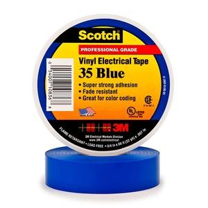 35 TAPE  1/2X20' BLUE