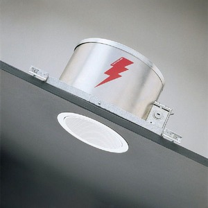 1133WH WHITE BAFFLE FOR SLOPED CEILING