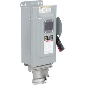 CHU362AWC N-F SW 60A600V3P C/A RECEP