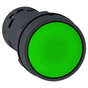 XB7NA31 GREEN PUSHBUTTON NO