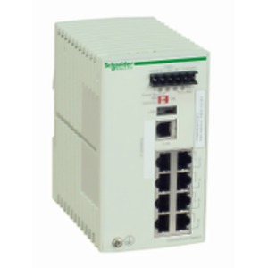 TCSESM083F23F0 MANAGED SWITCH 8 10/100BA