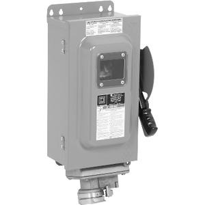 CH361AWC FUS.SW 30A600V3P C/W RECEPT