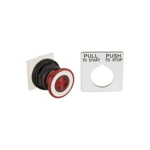 9001SKR9R RED MAINT PUSH-PULL
