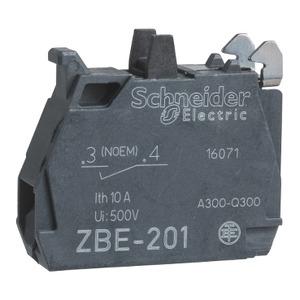 ZBE1016 1 N/O CONTACT BLOCK