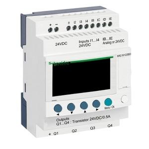 SR2B122BD ZELIO2CPCTCLK12I/O24DCDIS