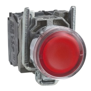 XB4BW34B5 ILLUMINATED PUSHBUTTON SWITCH