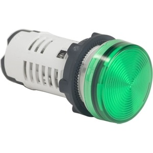 XB7EV03GP PILOT LIGHT LED GREEN 120V