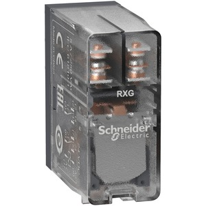 RXG25JD 2CO 5A RELAY CLEAR 12VDC