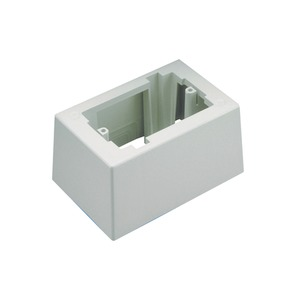JB1DWH-A ONE PIECE BOX 1G WHITE