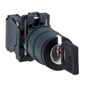 XB5AG21 SELECTOR SWITCH - KEY OPERATED