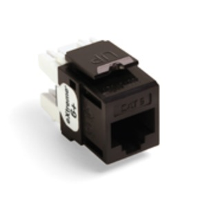 61110-RB6 Q/P CONNECTOR CAT 6 BROWN