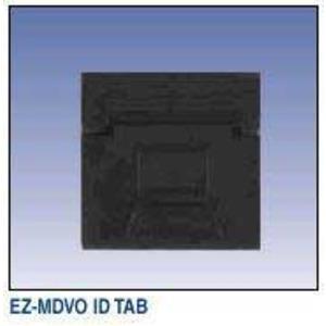 AX100184 EZ-MDVO ID TABS WHITE BLANK