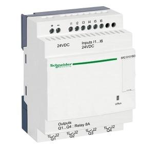 SR2D101BD ZELIO2CPCTNOCLOCK10I/O24DC