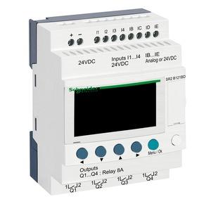 SR2B121BD ZELIO 10I/O LOGIC RELAY 24VDC