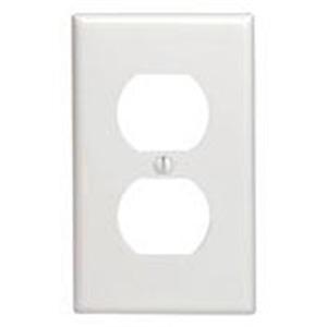 88003 WHITE 1G DUPLEX PLATE
