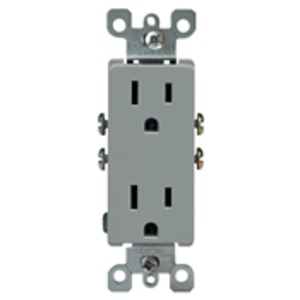 5325-GY RECEPTACLE