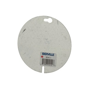 """BC-54-C-1 4"""" OCTAGON BLANK COVER *IND"""