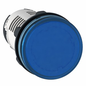 XB7EV06GP PILOT LIGHT LED BLUE 120V AC