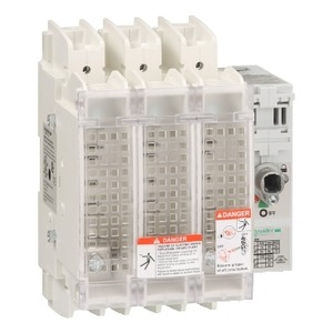 GS2JU3N DISC.SWITCH FUSIBLE 600V 100A 3P