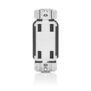 USB4P-W WHITE USB CHARGER 4PORTS USB4.2A