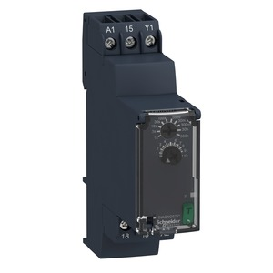 RE22R1AMR ON-DELAY TIMER 24-240VAC/DC 8A