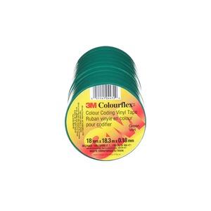 """COLOURFLEX TAPE GREEN 3/4"""" X 60FT"""