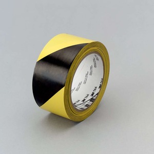 766-2X36 3M�HAZARD WARNING TAPE BLK/YLW