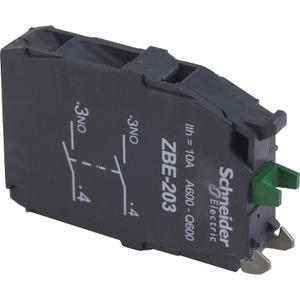 ZBE203 2N/O CONTACT BLOCK
