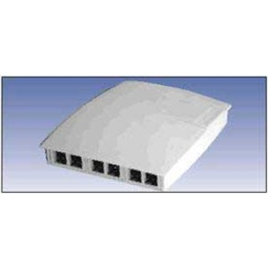 A0643208 6-PORT MDVO MULTIMEDIA BOX BLK