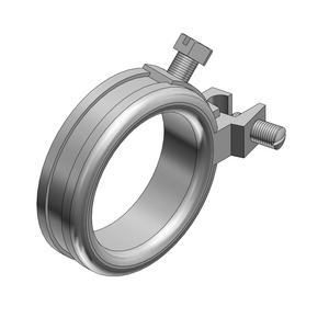 "BG100-14-20 GROUND BUSHING 1"" ZINC PL"