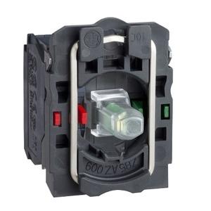 ZB5AW0G35 GRN 120V  LED MODULE W/BLOCK