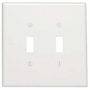 88109 WHITE 2G SWITH PLATE OVERSIZE