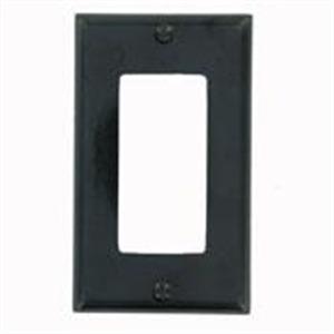 80401-E BLACK 1G DECORA PLATE