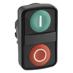 ZB5AA7341 PLASTIC DBL HEADED PUSHBUTTONS
