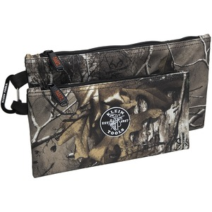 55560  CAMO ZIPPER BAGS 2 PACK