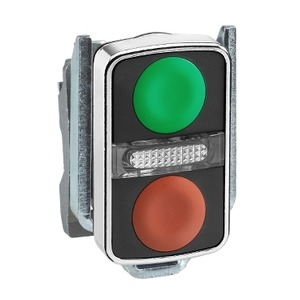 ZB4BW7A3740 METAL DBL HEADED PUSHBUTTONS