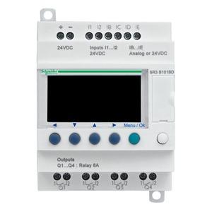 SR3B102BD ZELIO2 10I/O 24DC