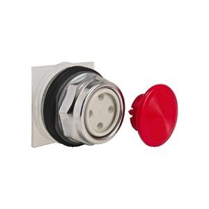 9001KR4R SNAP-IN MUSHROOM RED