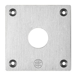 XAPE301 PUSHBUTTON FLUSH PLATE 22MM XAP