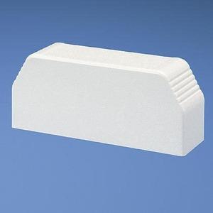 T70ECWH END CAP WHITE